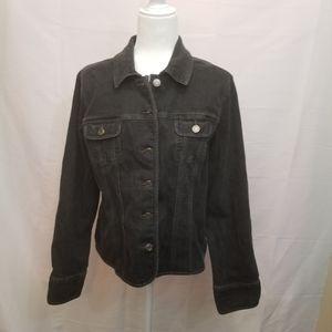 Geoffrey Beane black Jean jacket